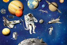 schoolthema: ruimtereis