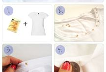 idea dress and tutorial / decorazione e fai da te vestiti