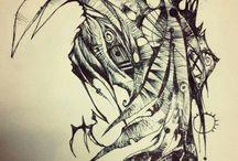 sketch & paint