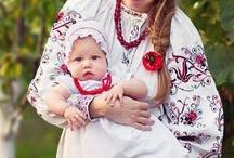 Ukrainian embroidery. Ukrainian traditional folk costume / #Vishivanka  #Vyshyvanka.