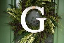 Wreath ideas / by Kathy Towle