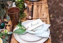 Flora and faune Wedding Inspiration