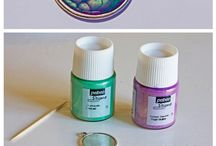 Pebeo Fantasy Paints / See these amazing paints in use from Pebeo