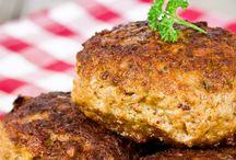 Meat patties/meatloaf