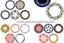 Circular ornaments / Hand drawn free circular ornaments. / by Craftsmanspace Jan