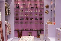 Walk in wardrobe / A place every girl should have. No boys aloud. I want one. My next project. Shhhhh