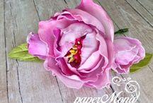 květiny z foamiranu
