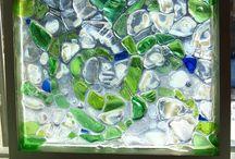 glas en mozaieken