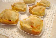 Pasta Filli con ripieno di zucca