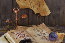Witchcraft / Celebrating the inspirations and wonders of witchcraft and magic. This collection showcases the beauty of everything that witches do, from casting witchcraft spells, charging talismans, meditating, to witchcraft tools, candles, herbs, and crystals.