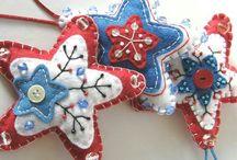 Christmas Felt Ideas / Craft