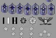USAF Officer Rank Insignia