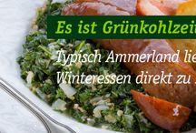Grünkohl / Kale / #Gruenkohl - Das gesunde Gemüse aus Norddeutschland