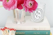 BEDSIDE TABLES AND BATHROOM COUNTERS / by Jennifer York