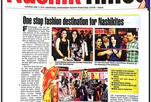 Media Coverage / Fashionista Exhibitions media coverage on different cities.