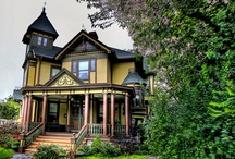 historic homes, buildings and details / I live in a 100+ year old home.  We love it's character and quirkiness.  There is something so special about the details of yesteryear.  Here are some things I love about the oldies but goodies.