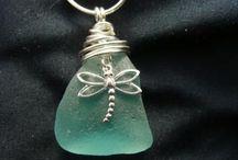 seaglass jewellery