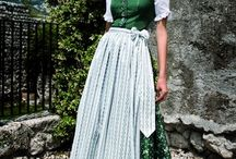 Vestido Folklorico and Dirndl Trachenmode / Folk dress and costumes / by Norma SylphNSiren