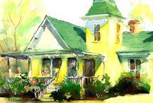 Bob Askew Watercolor / Original watercolor painting