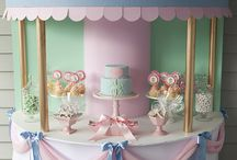 Candy and cake table / by michelle neri