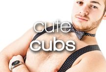 Cute Cubs / Stocky, young, hairy (or hairless! We're equal opportunity devotees to gorgeous men). These hot cubs have me panting in the best way. Grr!
