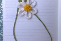 Crochet: marcapaginas