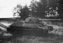 Medium tank (tank destroyer) T-34-57 / Czołg średni (niszczyciel czołgów) T-34-57
