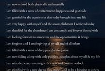 LOA, Meditation and Affirmations..