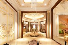 Luxury Lobby design by ALGEDRA / Luxury Lobby design by ALGEDRA  Algedra Interior Design 800ALGEDRA 8002543372 www.algedra.ae