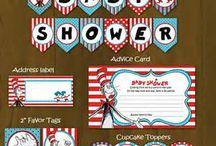 Dr Seuss Baby Shower / A board for Carey-Ann. Baby shower ideas