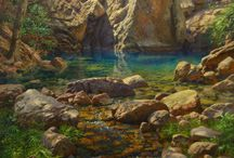 Landscape Paintings / Oil Paintings of Landscapes by Artist,Andrew Tischler