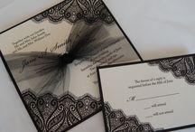 Invitations. Cards