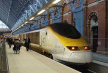 Como viajar de trem Eurostar entre Paris e Londres