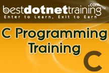 C Programming Online Training / BestDOtNetTraining's C Programming online trainin online training videos which include both the concepts and practical examples will help you learn the C language down to the minutest detail.