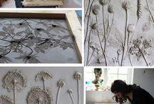 Flower cast