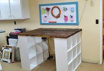 For My Studio / Art studio orginazation, art studio storage, art studio set up