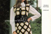 Festival Crochet / vintage crochet patterns for fab festival gear.