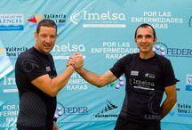 Camino Solidario 2014 / Reto deportivo y solidario consta de más de 1.700 kilómetros, que Víctor Cerdá y Raúl Zurriaga recorrerán íntegramente a pie, y que incluye la subida a los 31 picos más emblemáticos de la Comunitat Valenciana, como Penyagolosa, Aitana, o y Puig Campana, entre otros.