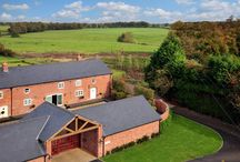 Barn Conversion for sale Brereton Park, Near Holmes Chapel, Cheshire CW11 1RY / A totally stunning individual architect designed contemporary barn conversion set in private parkland with a walled garden & paddock.  Guide Price Of £999,995