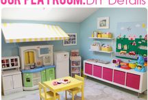Play Room / Creating the best space for baby to play and store toys