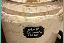 Cleaning Products / Homemade Laundry Detergent