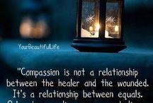 Compassie / De positieve effecten van het praktiseren van empathie en compassie.