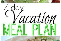 Vacation food plans