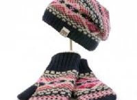 Woollen Accessories / Hand knitted hats and gloves