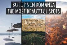 romania landscapes
