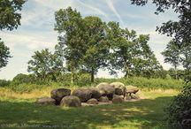 Hunebedden / Foto's van hunebedden in Nederland