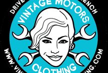 We are vintage motors clothing / Who is behind the site? Alexandr Molotof / Dezo Shuster / P'O Fishi