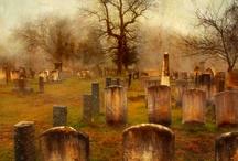 Cemeteries. Hřbitovy.