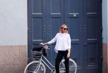 Girl on the bike