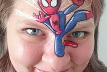 Character face painting
